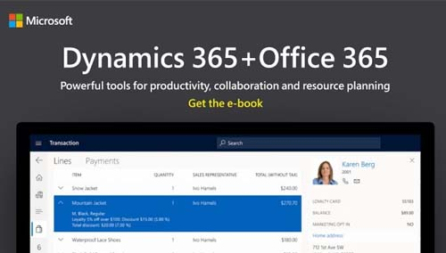 Dynamics 365+Office 365